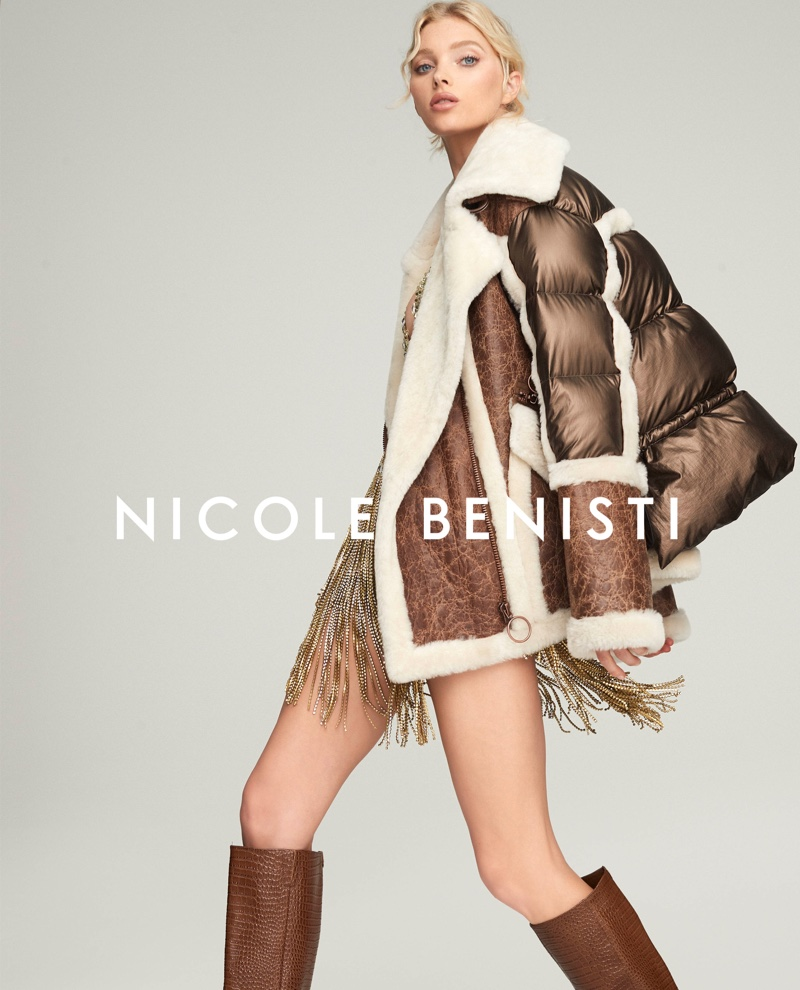 Nicole Benisti taps Elsa Hosk for fall-winter 2019 campaign