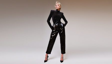 Elsa Hosk stars in Rene Caovilla fall-winter 2019 campaign