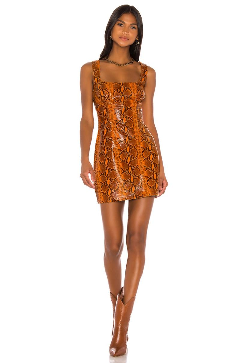 GRLFRND Romi Mini Dress $498