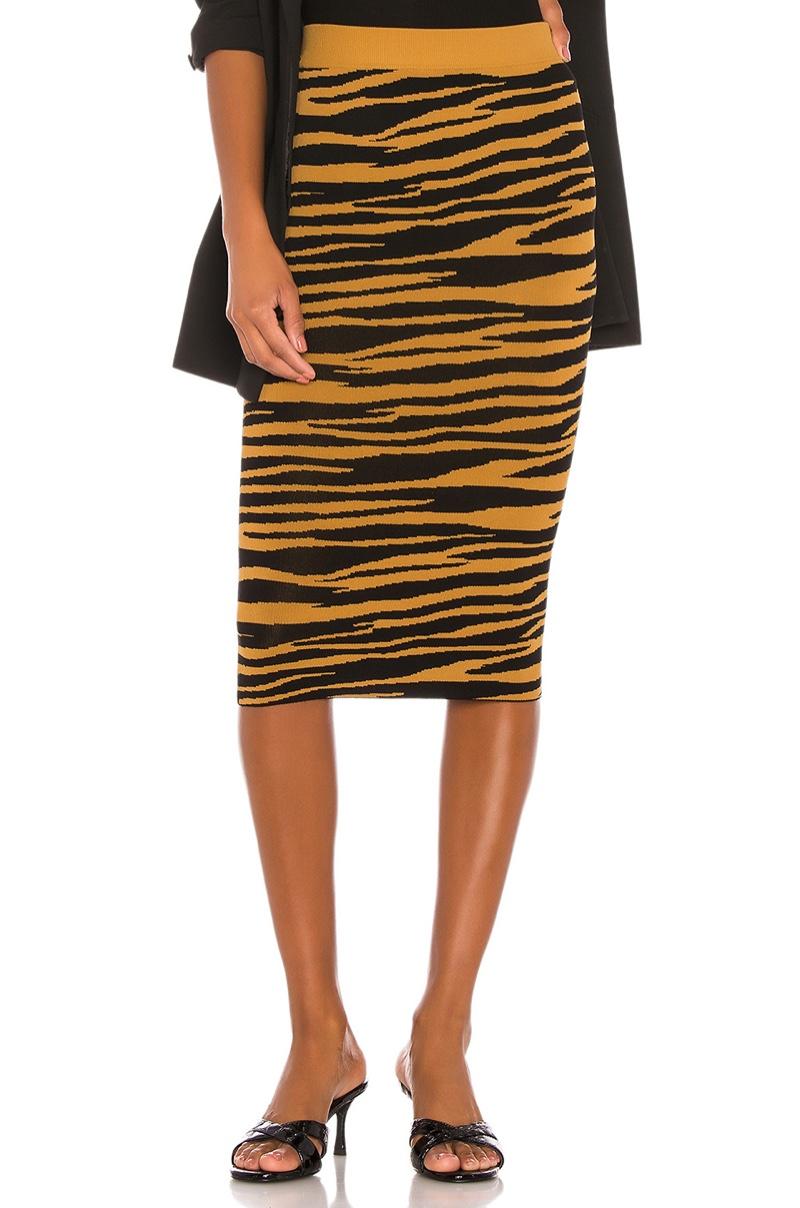 GRLFRND Toni Midi Skirt $168