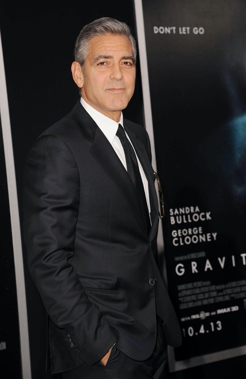 George Clooney Gravity Premiere Suit