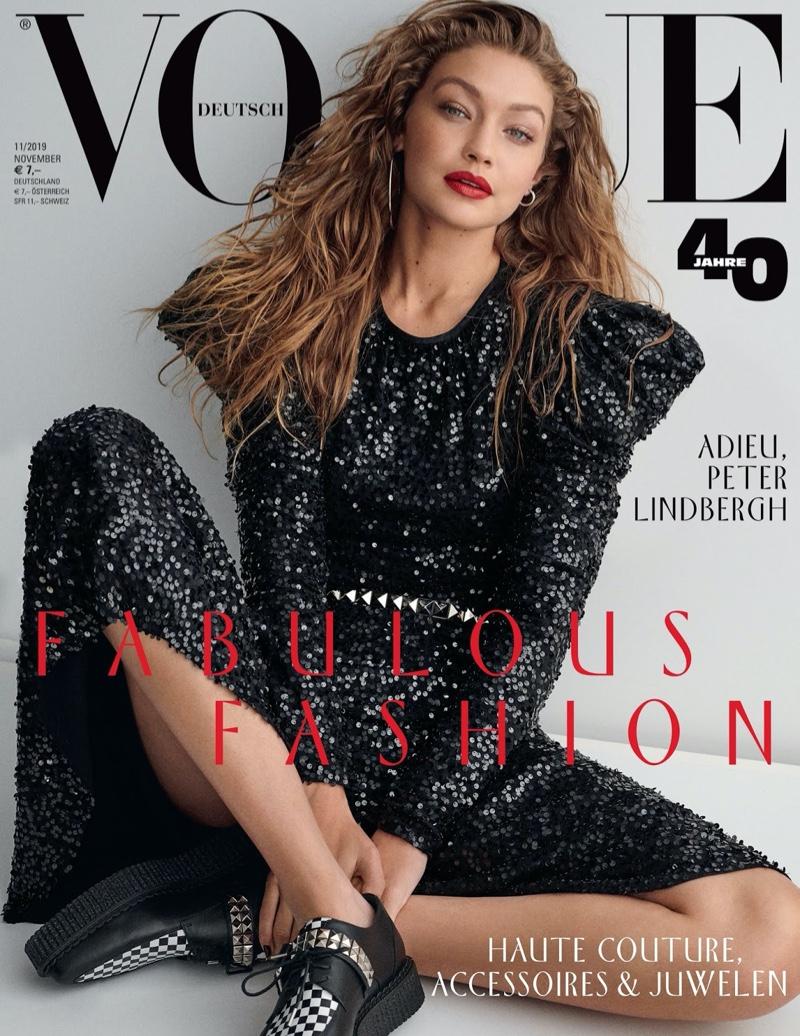 Gigi Hadid Poses in Michael Kors' Resort Looks for Vogue Germany