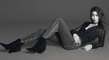 Grace Elizabeth Rocks Liu Jo's Fall Denim Styles