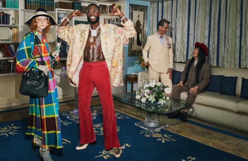 Gucci Mane fronts Gucci cruise 2020 campaign
