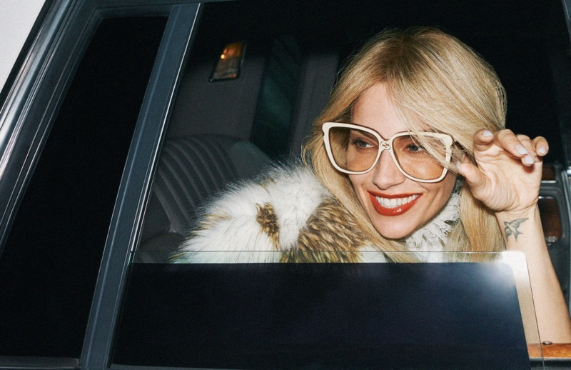 Sienna Miller stars in Gucci cruise 2020 campaign