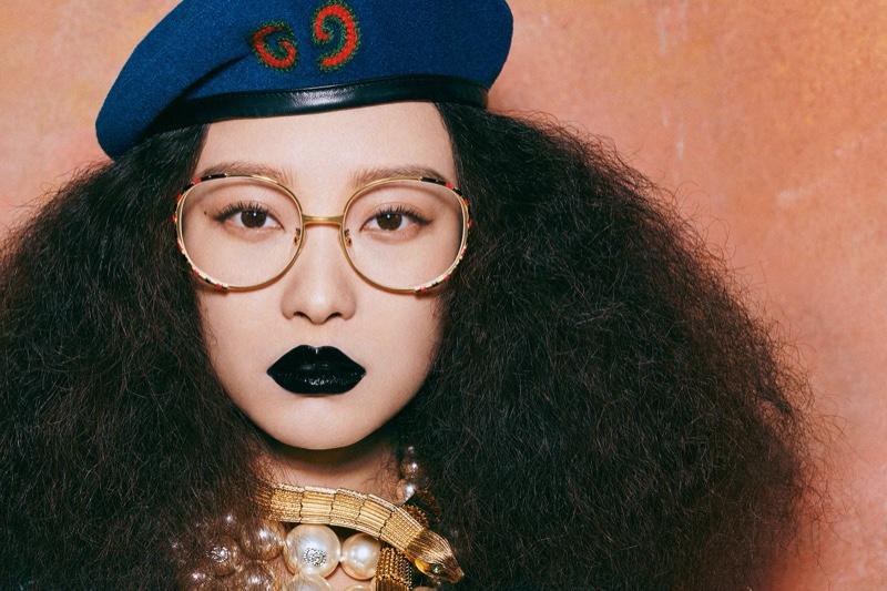 Ni Ni stars in Gucci Eyewear fall-winter 2019 campaign