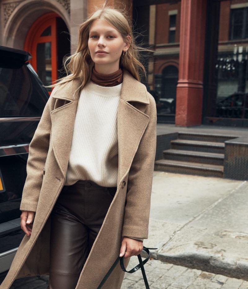 H&M Wool Blend Coat $129