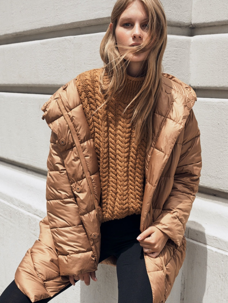 H&M Padded Hooded Jacket $99