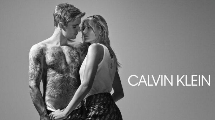 Hailey Baldwin and Justin Bieber front Calvin Klein #CK50 campaign