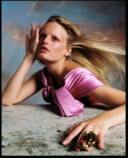 Hanne Gaby Odiele Is In the Clouds for Vogue Czechoslovakia