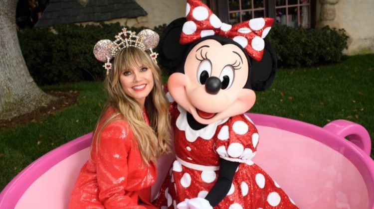 Heidi Klum designs Minnie Mouse ears for Disney Parks. Photo courtesy