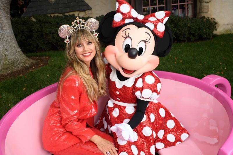 Heidi Klum designs Minnie Mouse ears for Disney Parks. Photo courtesy