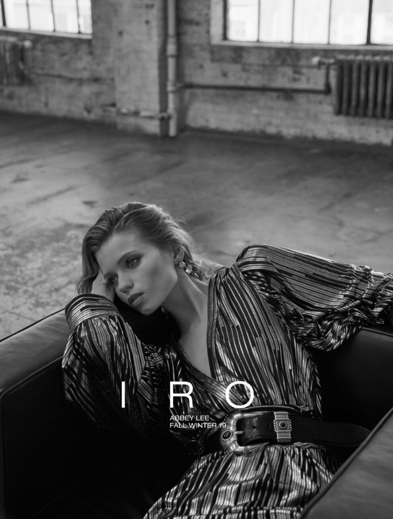 Abbey Lee Kershaw stars in IRO fall-winter 2019 campaign