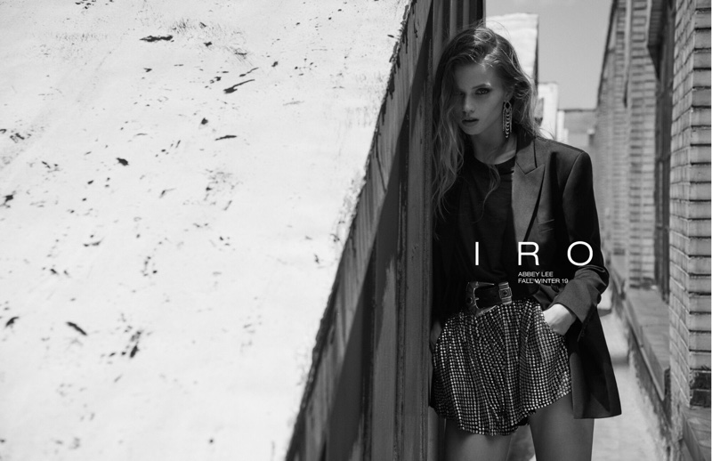 IRO enlists Abbey Lee Kershaw for fall-winter 2019 campaign