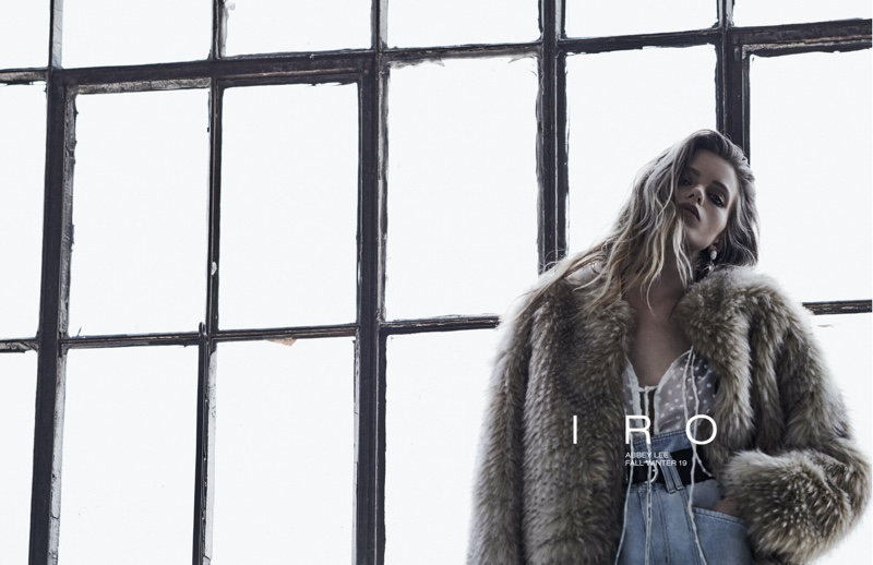An image from IRO's fall 2019 advertising campaign