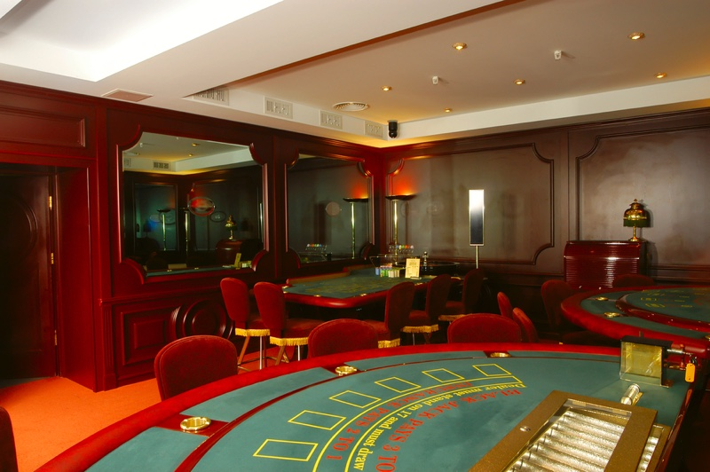 Interior Casino Tables