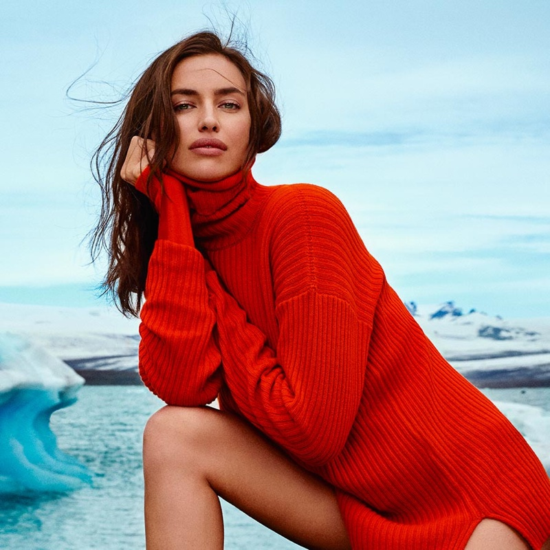 Irina Shayk stars in Falconeri fall-winter 2019 campaign