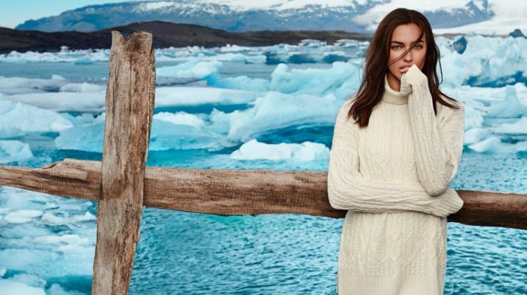 Irina Shayk appears in Falconeri fall-winter 2019 campaign