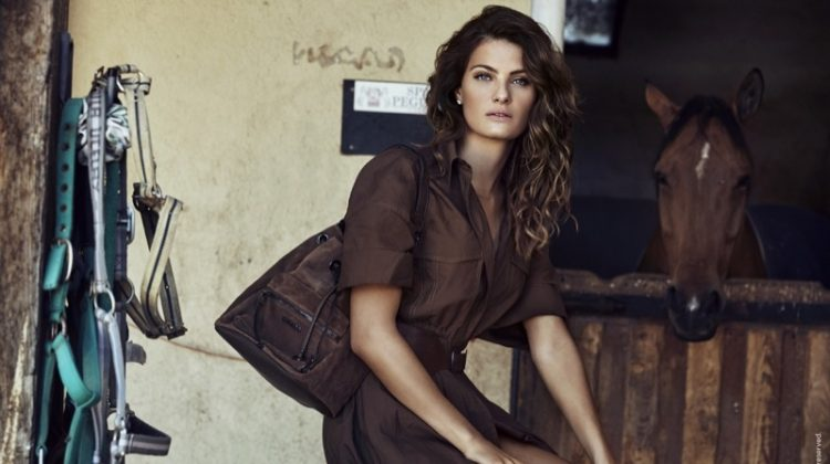Carmela taps Isabeli Fontana for fall-winter 2019 campaign