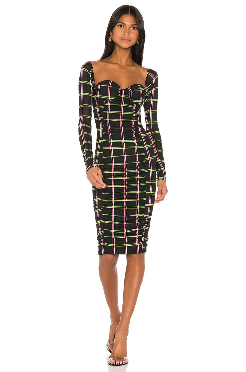 Jonathan Simkhai x REVOLVE Ruched Midi Dress $325