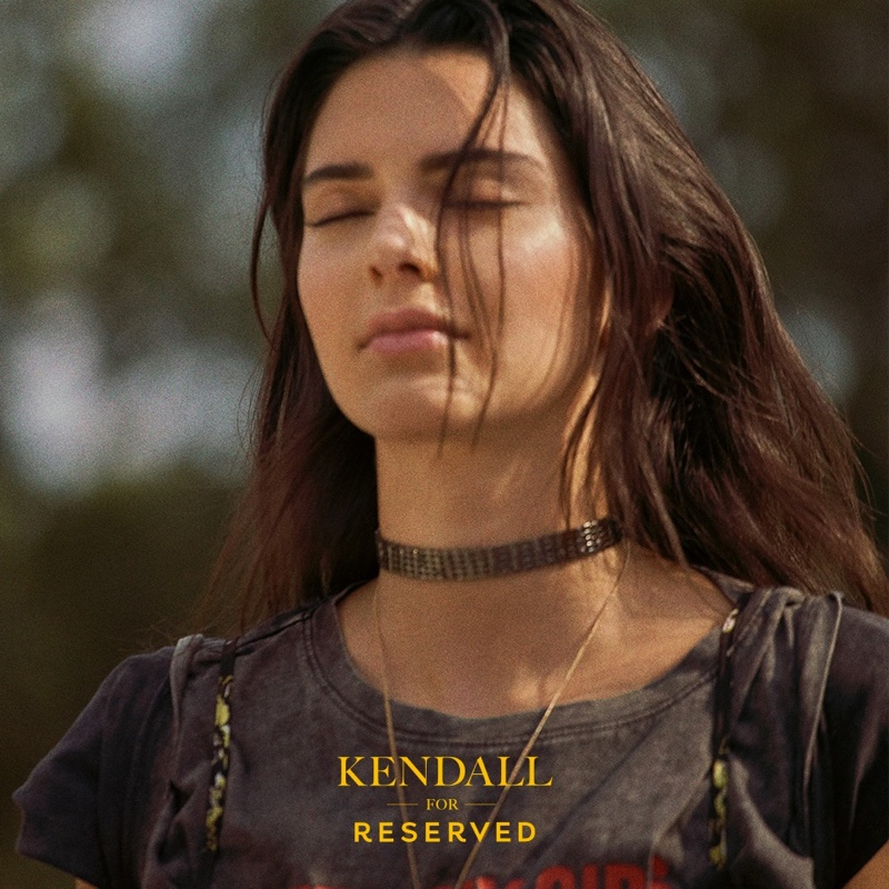 Reserved taps Kendall Jenner for fall-winter 2019 campaign