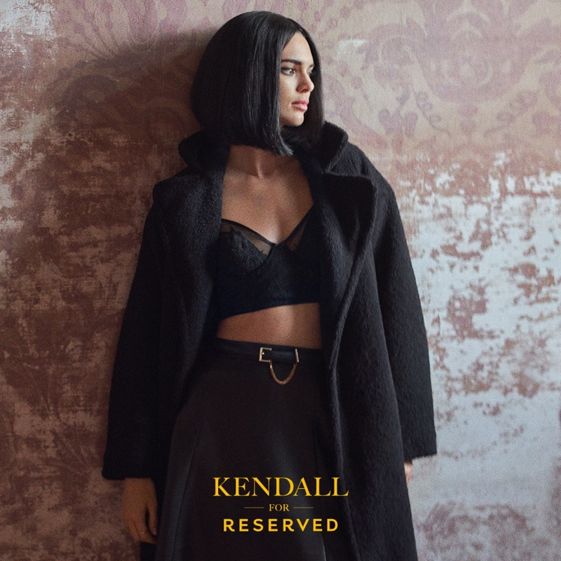 An image from Reserved #CiaoKendall fall 2019 advertising campaign
