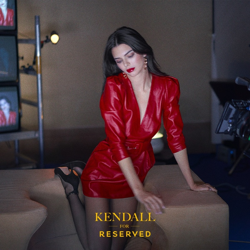Kendall Jenner looks red-hot for Reserved fall-winter 2019 campaign