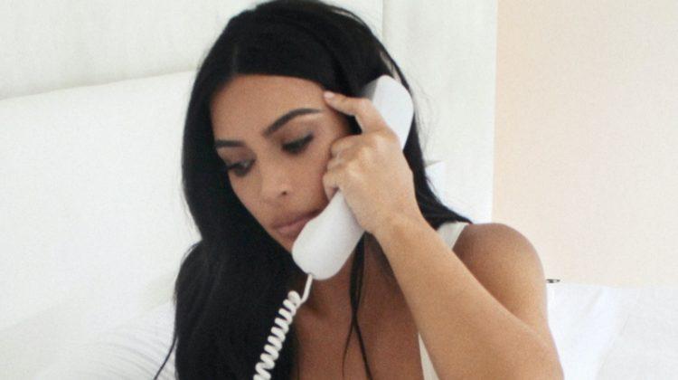 Kim Kardashian stars in SKIMS Cotton Collection campaign