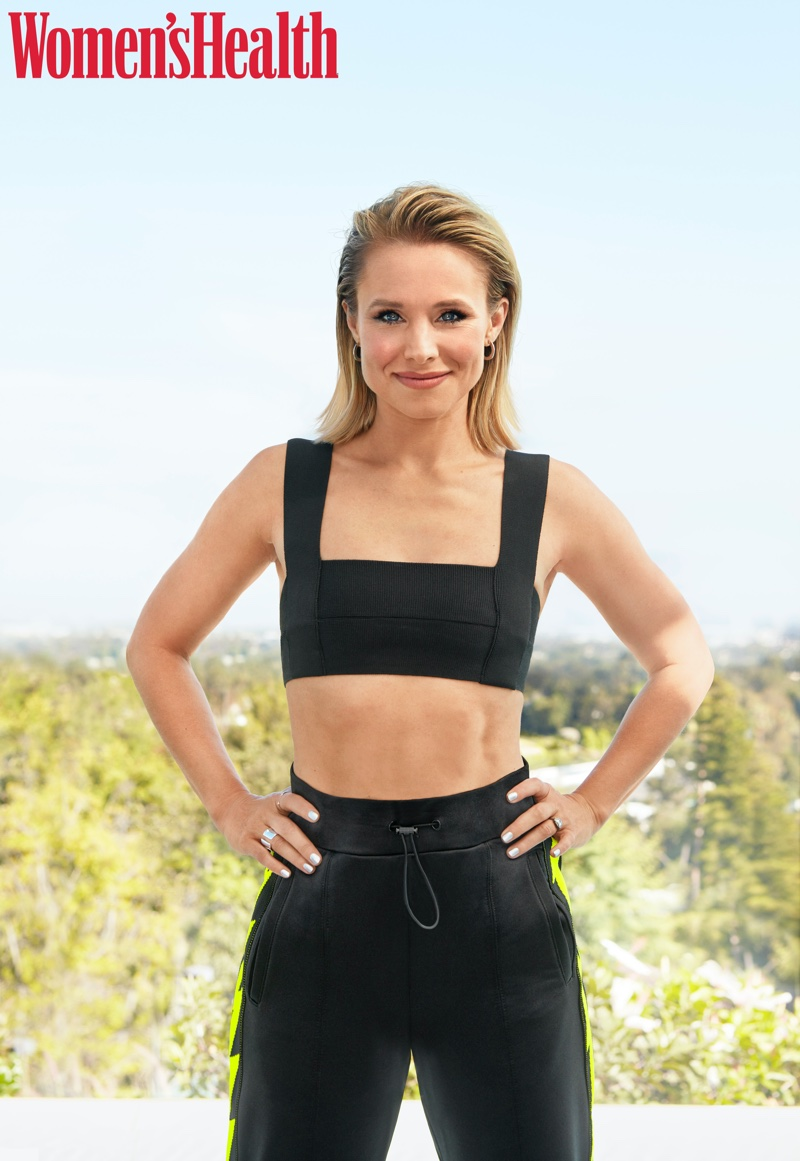 Kristen Bell wears Haight top and Koral pants