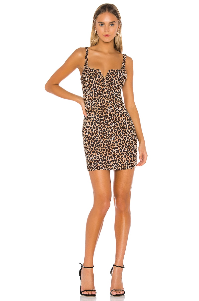 Likely Leopard Constance Dress $178