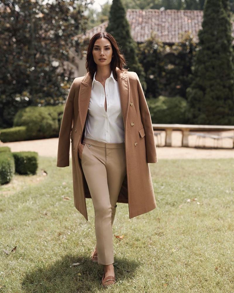 Lily Aldridge stars in Lauren Ralph Lauren fall-winter 2019 campaign