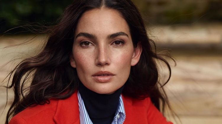 Lauren Ralph Lauren taps Lily Aldridge for fall 2019 campaign