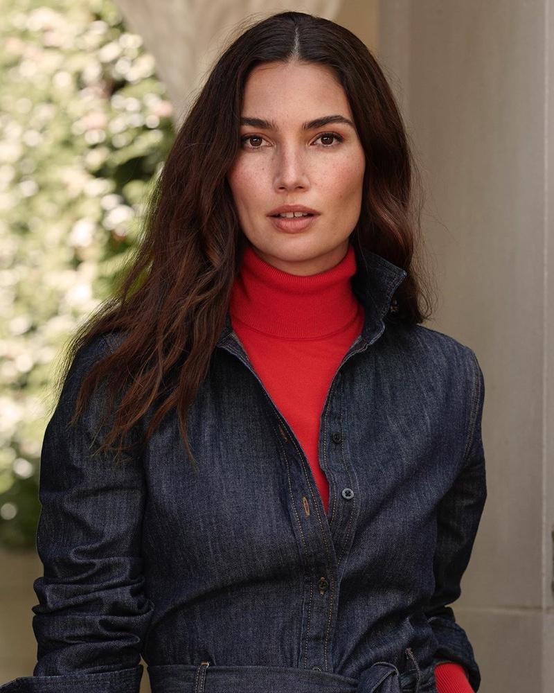 An image from Lauren Ralph Lauren's fall 2019 advertising campaign