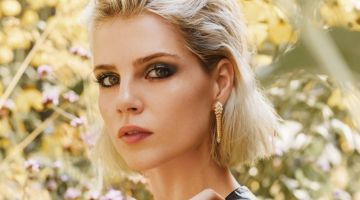 Ready for her closeup, Lucy Boynton wears Bulgari jewelry