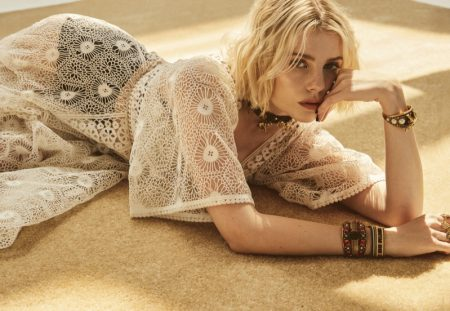 Lucy Boynton Looks Divine in Dior for Marie Claire UK