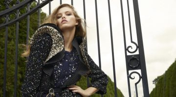 Luna Bijl Poses in Ultra-Luxe Looks for Vogue China