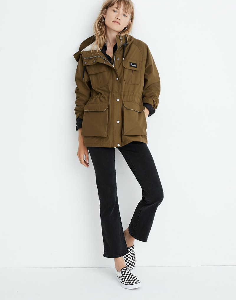Madewell x Penfield Kassan Jacket in Olive $225