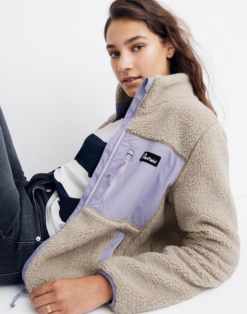 Madewell x Penfield Mattawa Sherpa Fleece Jacket $170