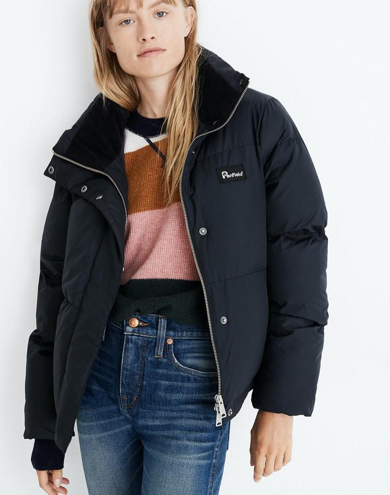 Penfield Melrose Puffer Jacket $225
