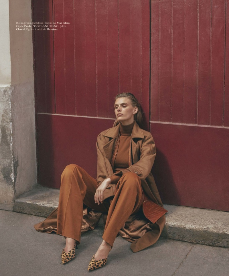 Madison Headrick Wears Bold Looks for Harper's Bazaar Serbia