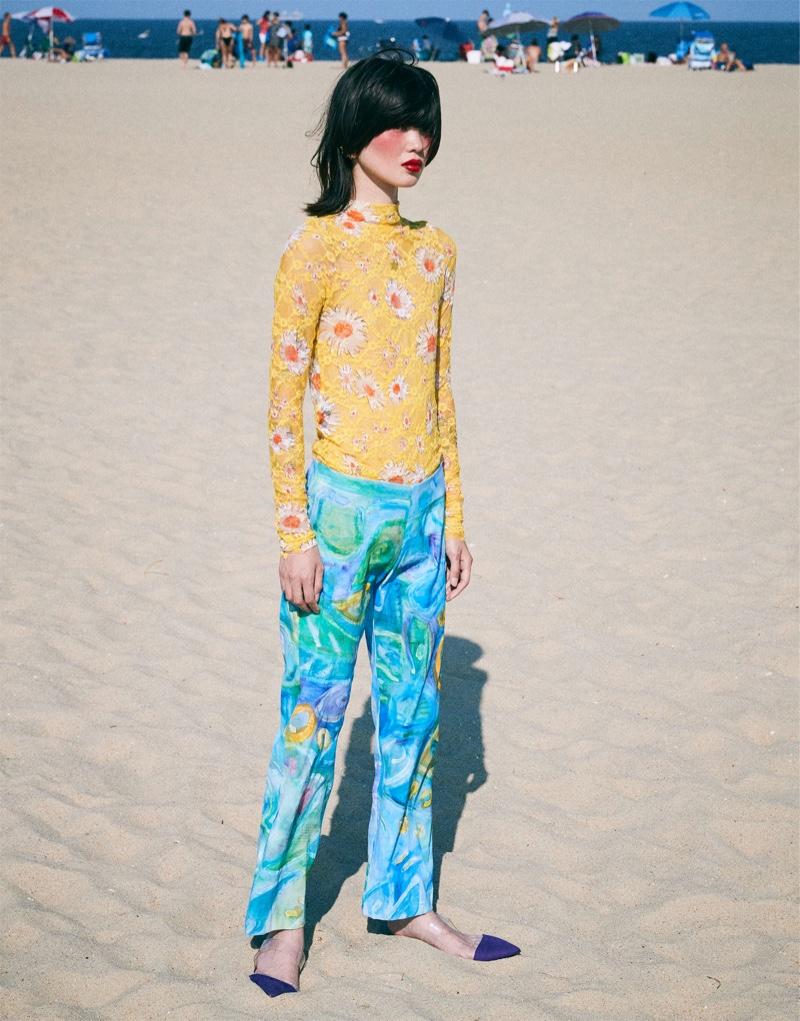 Manami Kinoshita Models Eclectic Styles for Love Want Magazine