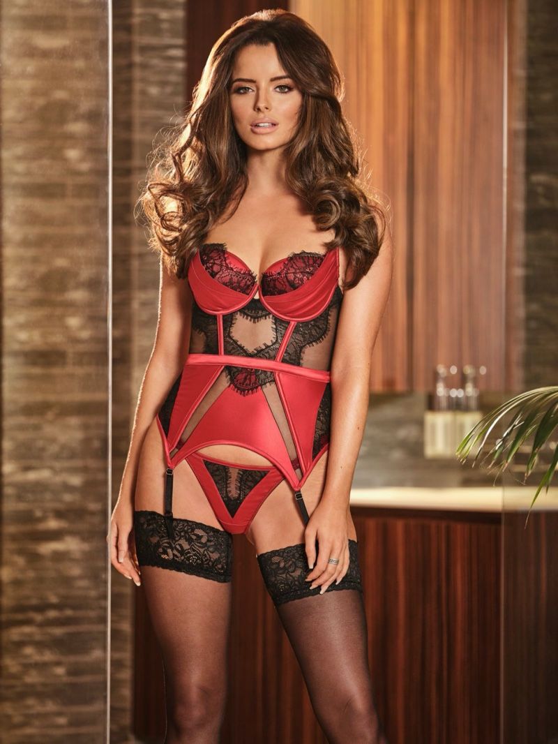 Maura Higgins stars in Ann Summers Be More Maura winter 2019 campaign