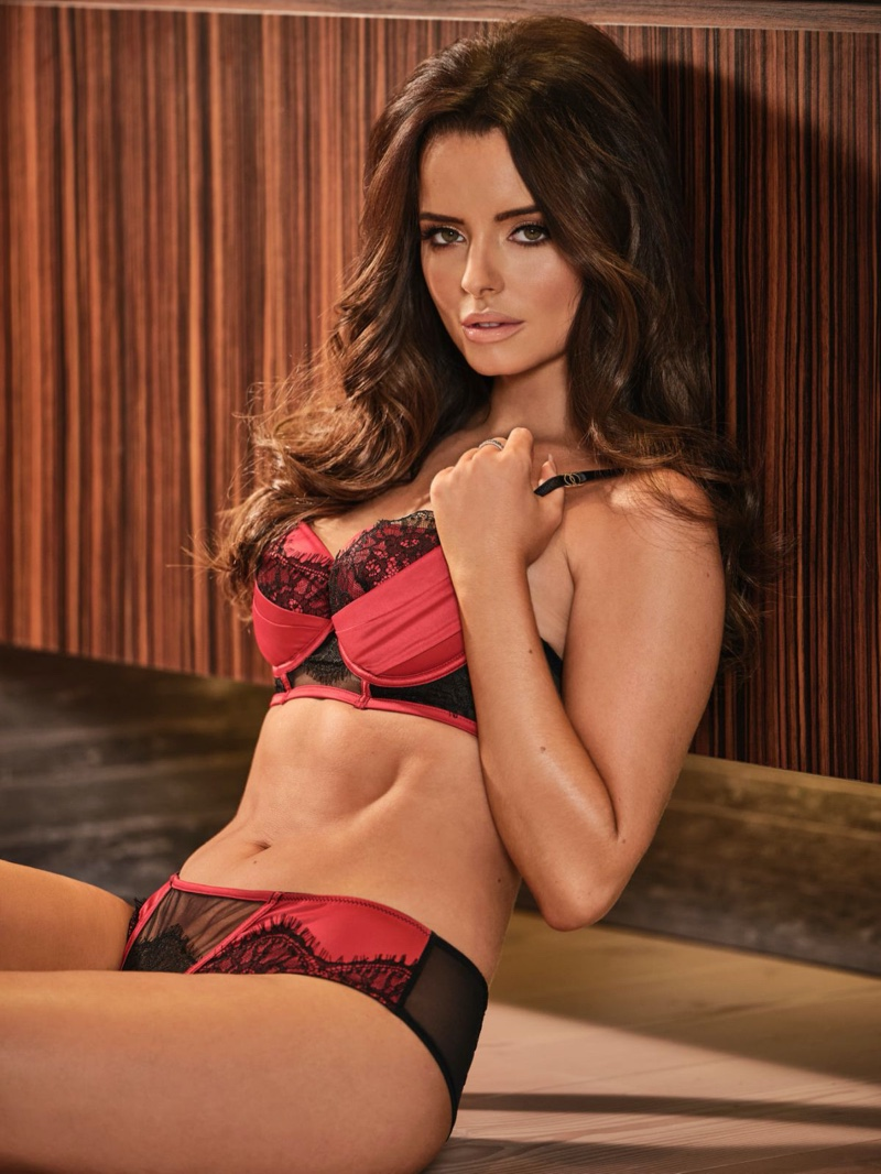 Looking red-hot in lingerie, Maura Higgins fronts Ann Summers Be More Maura winter 2019 campaign