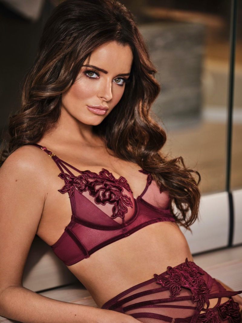 Maura Higgins fronts Ann Summers Be More Maura winter 2019 campaign