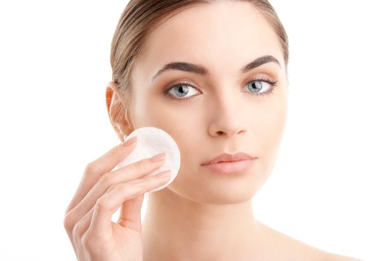 Model Cotton Round Beauty Makeup
