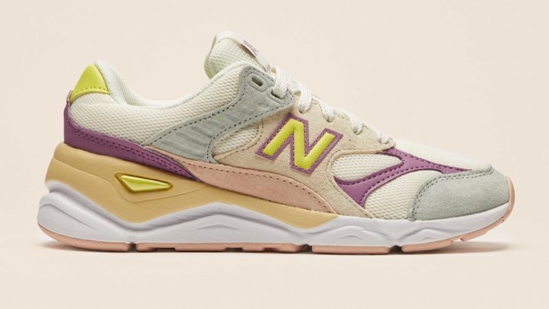 New Balance x Reformation X90 Sneakers in White/Green $100
