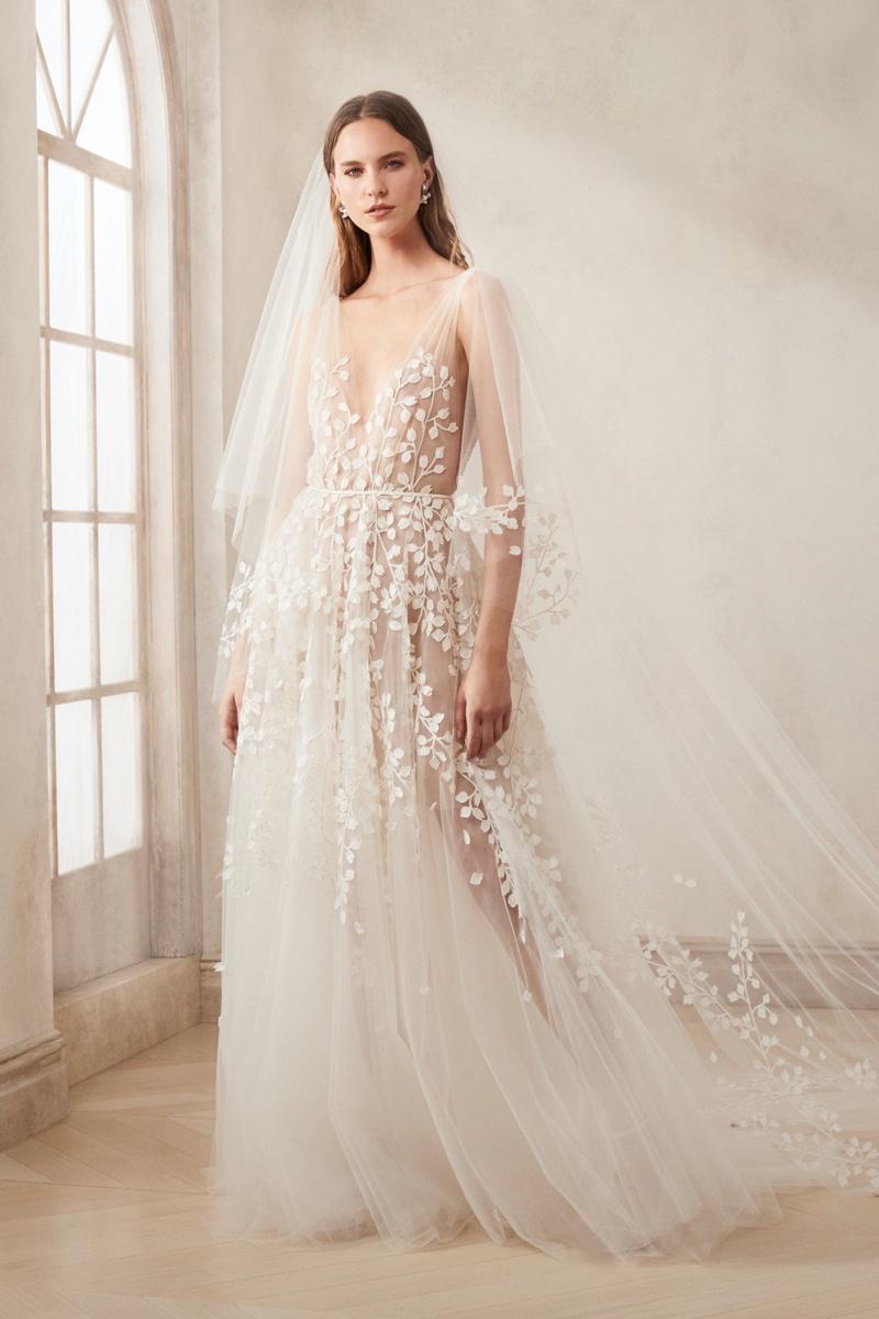Oscar De La Renta Bridal Fall 2020 Dresses Lookbook Fashion Gone Rogue