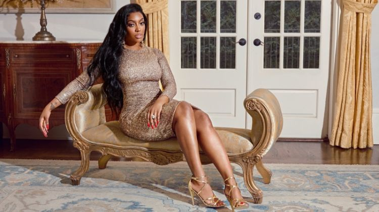 The Real Housewives of Atlanta star Porsha Williams teams up with Justfab on a sh