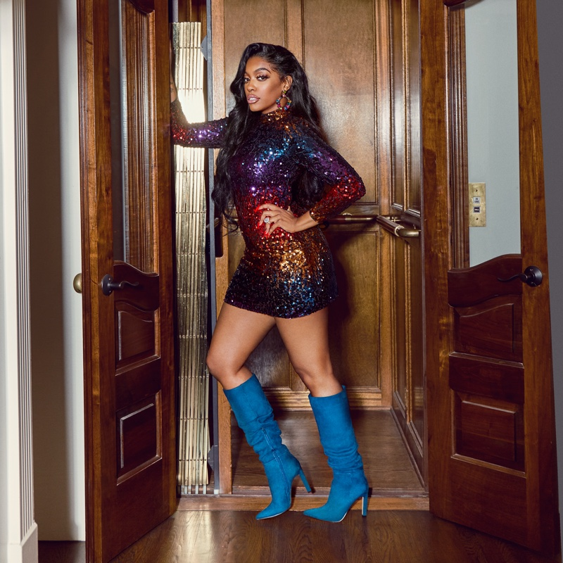 RHOA star Porsha Williams unveils boots collaboration with JustFab