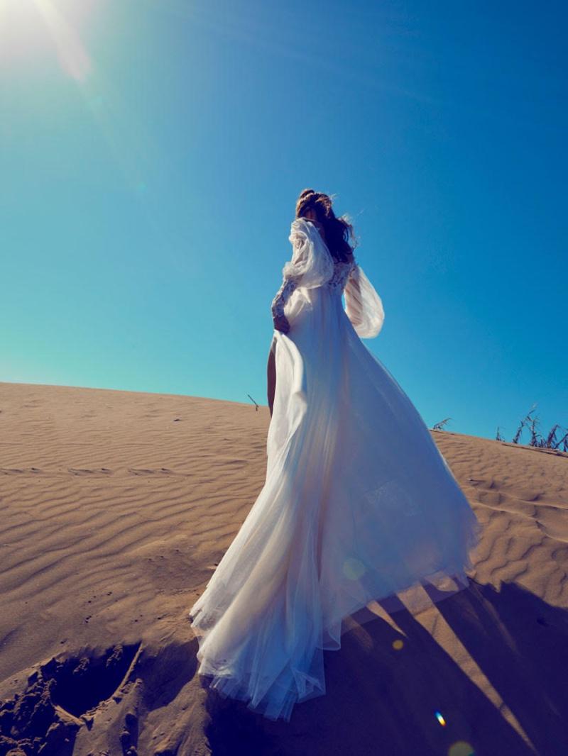 Photographer Olga Rubio Dalmau captures Ramon Herrerias Bridal 2020 collection